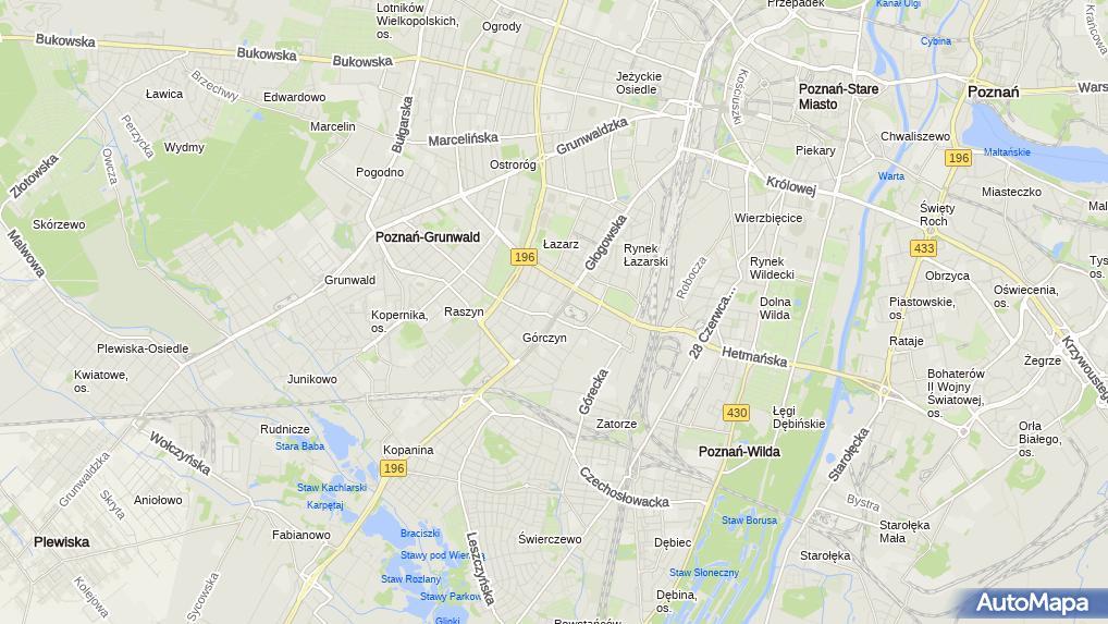 Gorczyńskie Głogowska 138 Poznań Centrum Handlowe Numer Telefonu