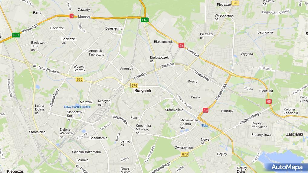 1fa2f836162f89 UP Białystok 34, Aleja Józefa Piłsudskiego 26, Białystok 15-447 ...