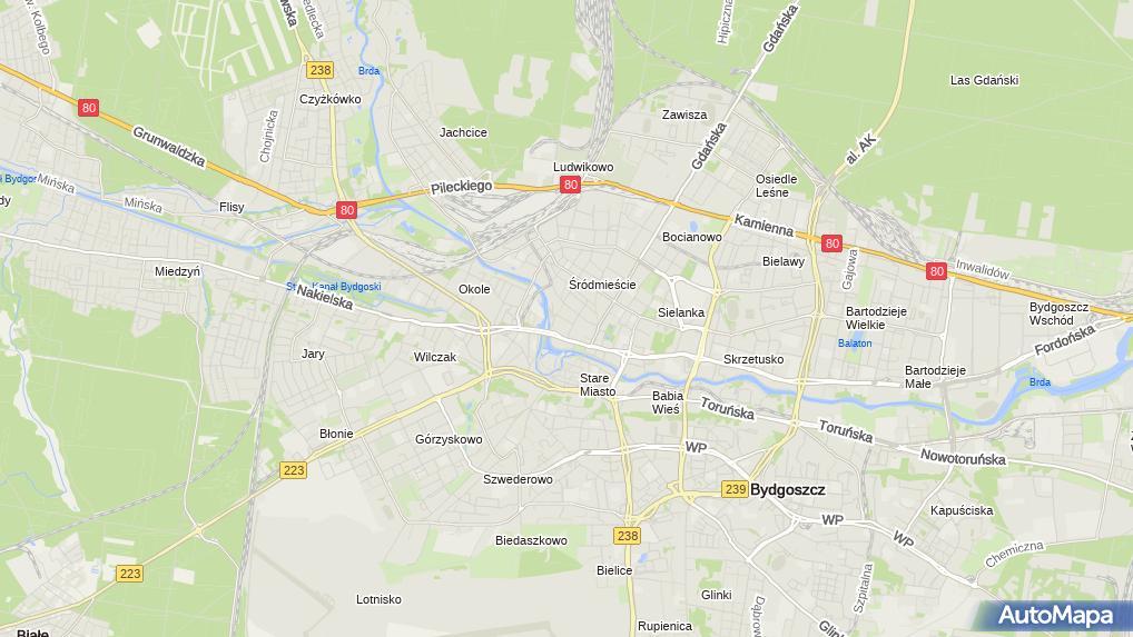 Agro Mapa Polska Obroncow Bydgoszczy 8 Bydgoszcz 85 054