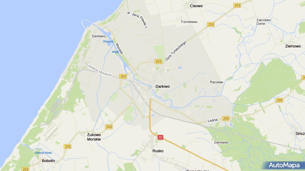 Darlowo Mapa Pomorza Zamkowy Pl 1 Darlowo 76 150 Zdjecia