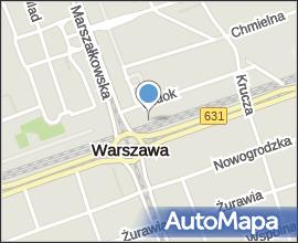 Dmowski circular square in Warsaw