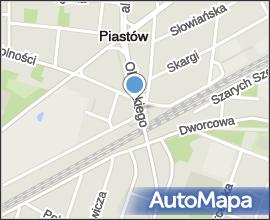 Piastow, z wiaduktu na polnoc