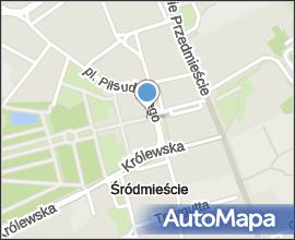 Varšava, Śródmieście, plac Marszalka Józefa Piłsudskiego, pamětní deska papeže Jana Pavla II
