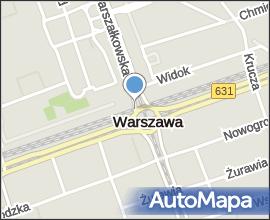 Warsaw during WWII - Rondo Dmowskiego