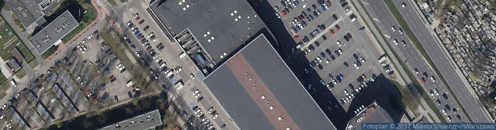 Zdjęcie satelitarne A.Blikle - Cukiernia