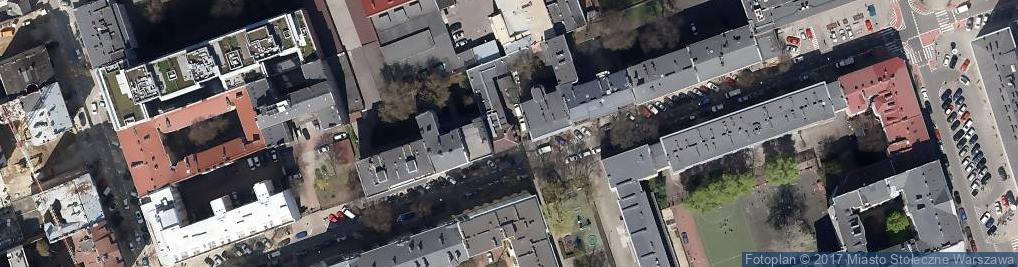 Zdjęcie satelitarne Krasickiego 30