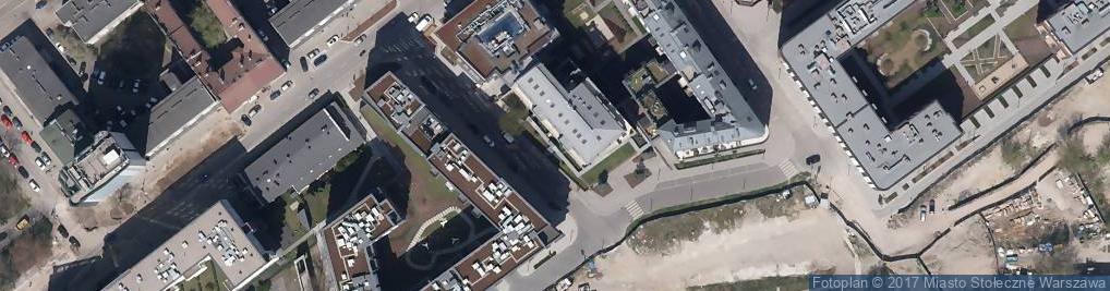 Zdjęcie satelitarne Port Praski