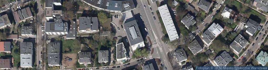 Zdjęcie satelitarne Spółdzielnia Budowlano Mieszkaniowa Pracowników Kultury