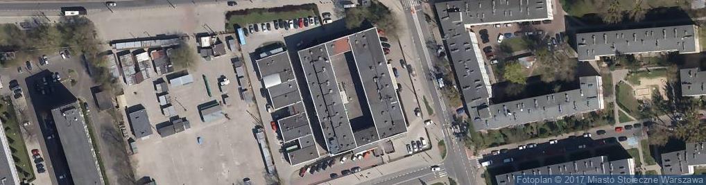 Zdjęcie satelitarne Spółdzielnia Rzemieślnicza Elmech
