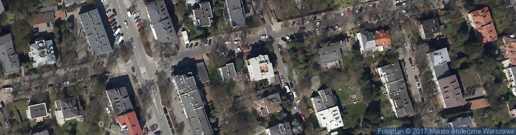 Zdjęcie satelitarne Stary Dworek Ustków
