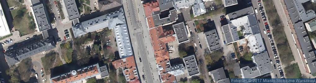 Zdjęcie satelitarne Sopocki Dom Aukcyjny