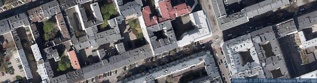 Zdjęcie satelitarne Apteka Pod Zegarami