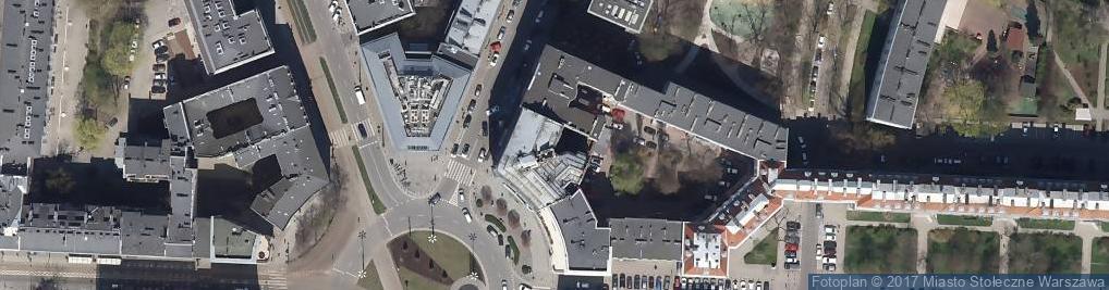 Zdjęcie satelitarne Apteka Przy Placu Zbawiciela