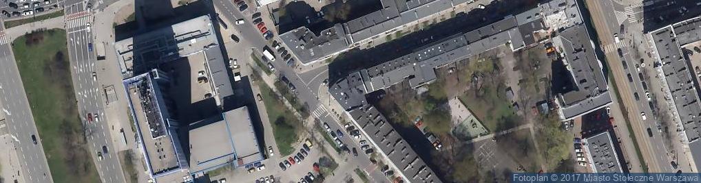 Zdjęcie satelitarne Ab Architektura i Budownictwo Spółka Projektowa