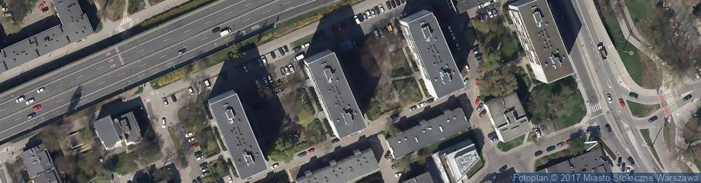 Zdjęcie satelitarne Grass Kancelaria Architektoniczna Tomasz Kwieciński