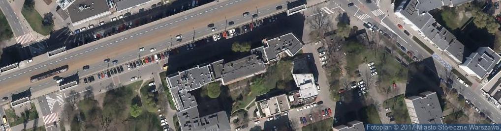 Zdjęcie satelitarne Jaskóła Jacek Jjjaskola Architekci