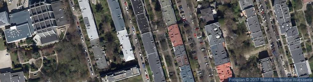 Zdjęcie satelitarne Kowalik Tomasz Architekt Pracownia Autorska Reprezentacja NET Po