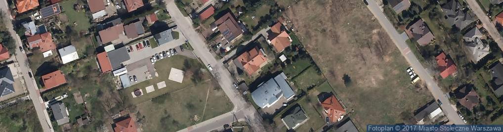Zdjęcie satelitarne MGProjekt Pracownia architektoniczna
