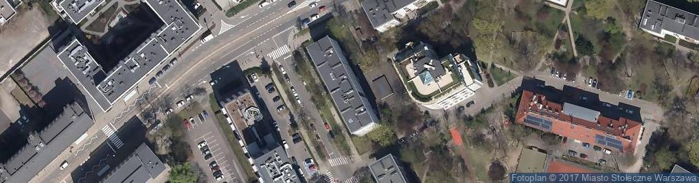 Zdjęcie satelitarne Studiostudio Strefa Architektoniczna Wojciech Godziński