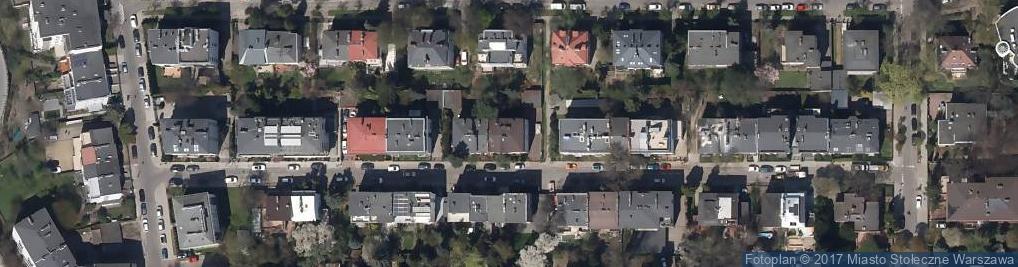 Zdjęcie satelitarne Szyszko-Stein Bibianna Pracownia Architektoniczna