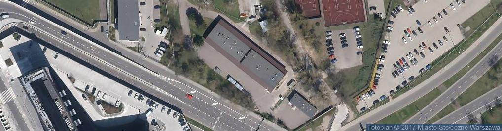 Zdjęcie satelitarne Areszt Straży Granicznej