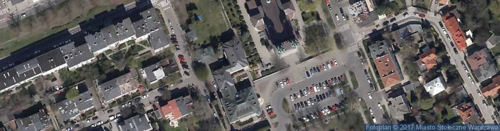 Zdjęcie satelitarne Kościół św. Stanisława Kostki