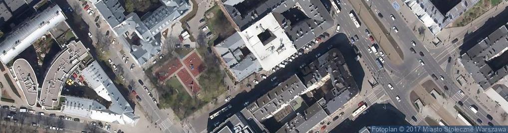 Zdjęcie satelitarne Mykwa Łaźnia Żydowska