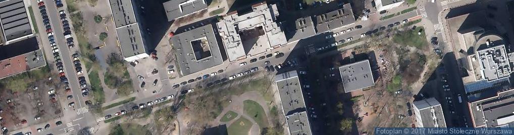 Zdjęcie satelitarne Ulica Krochmalna