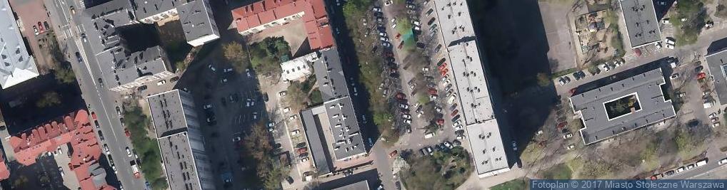 Zdjęcie satelitarne Ulica Waliców