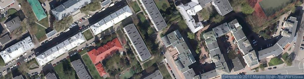 Zdjęcie satelitarne Ulica Zimna