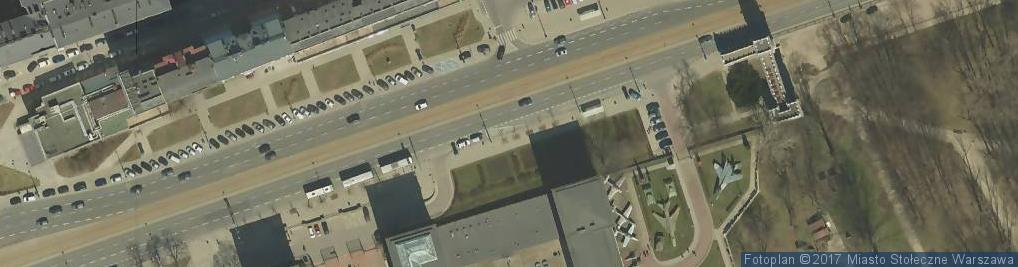 Zdjęcie satelitarne autobusowy