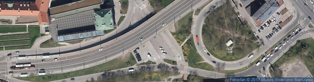 Zdjęcie satelitarne Parking Autokar, BUS