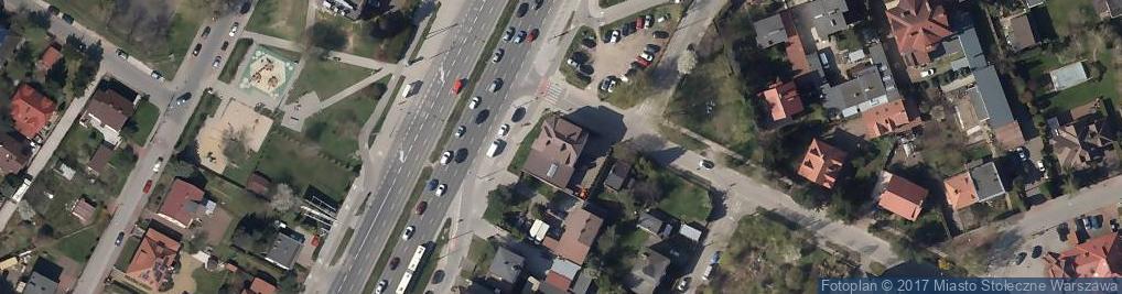 Zdjęcie satelitarne Becker Polska