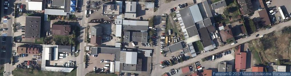 Zdjęcie satelitarne Mototechnika