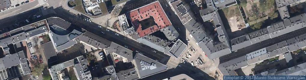 Zdjęcie satelitarne Bar 'Afera Na Szpitalnej'