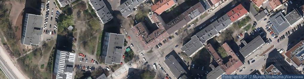 Zdjęcie satelitarne Urząd Marszałkowski Województwa Mazowieckiego w Warszawie