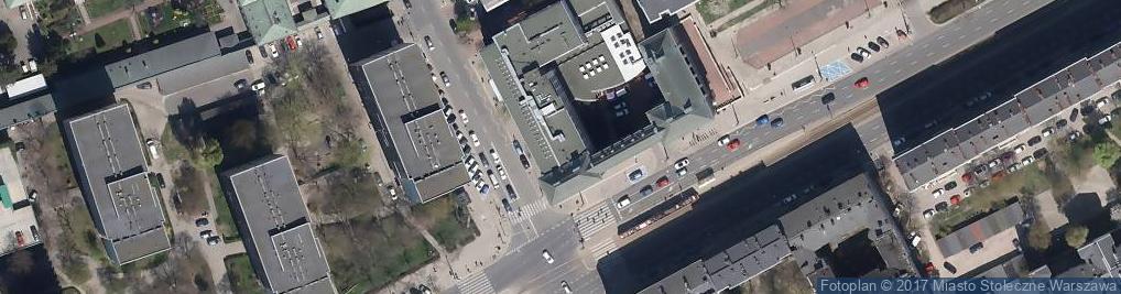 Zdjęcie satelitarne Biblioteka Publiczna w Dzielnicy Wola m.st. Warszawy