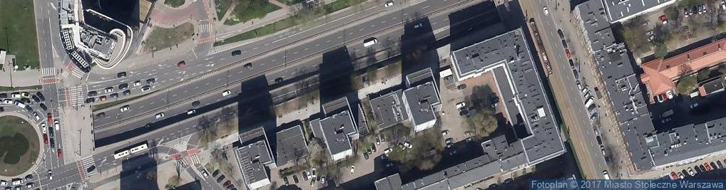 Zdjęcie satelitarne Biblioteka Publiczna