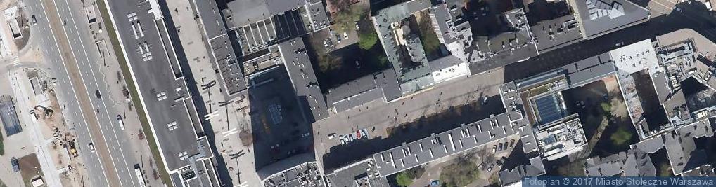Zdjęcie satelitarne Agencja Nieruchomości Chmielna