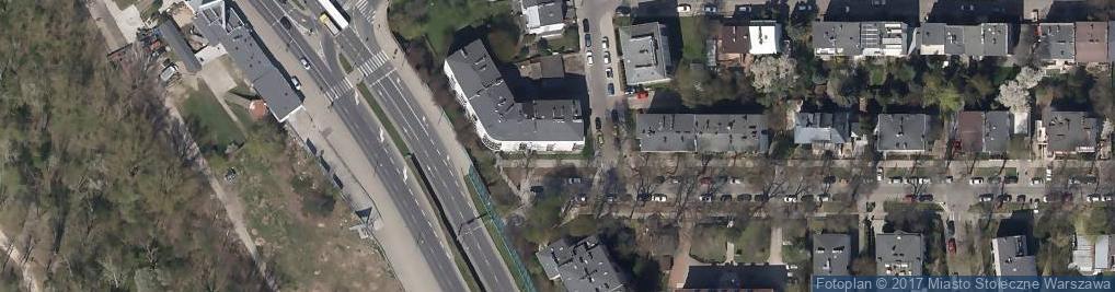 Zdjęcie satelitarne Agencja Nieruchomości - Domańska & Popkowski