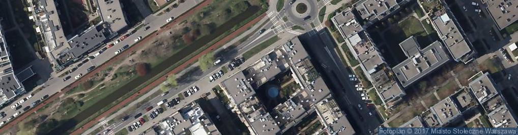 Zdjęcie satelitarne Eurovilla Miasteczko Wilanów