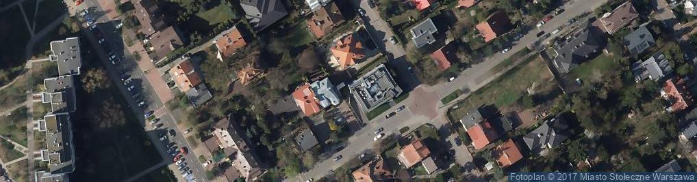 Zdjęcie satelitarne Eurovilla Wilanów sp. z o.o.