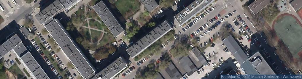 Zdjęcie satelitarne Accrus Biuro Rachunkowe