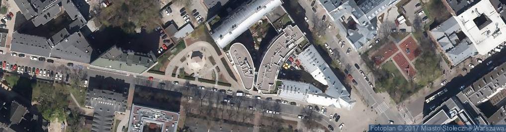 Zdjęcie satelitarne AJT Biuro Rachunkowe Warszawa