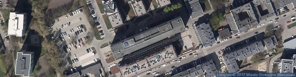 Zdjęcie satelitarne Biuro Rachunkowe Apt Fin