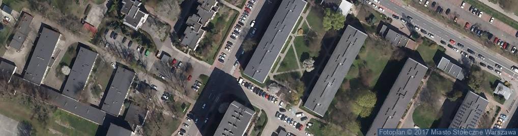 Zdjęcie satelitarne Biuro Rachunkowe B J