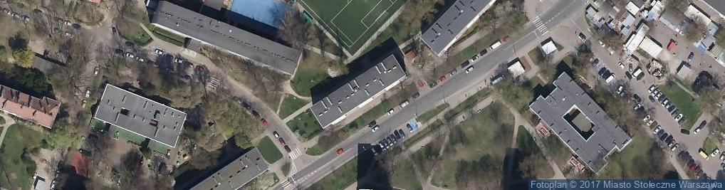 Zdjęcie satelitarne Biuro Rachunkowe Casus Szymczak Danuta Wypyska Elżbieta