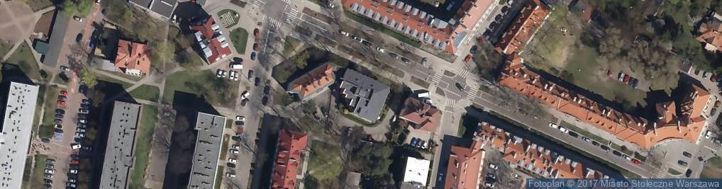 Zdjęcie satelitarne Biuro Rachunkowe Prymakowscy
