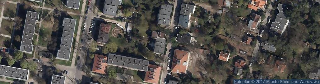 Zdjęcie satelitarne Biuro Rachunkowości i Doradztwa Podatkowego Best