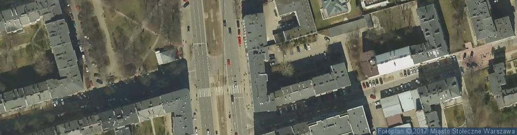 Zdjęcie satelitarne Usługi Rachunkowe